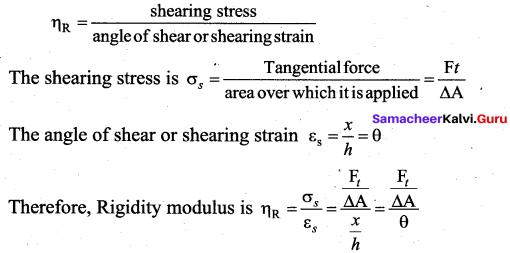 Samacheer Kalvi 11th Physics Solutions Chapter 7 Properties of Matter 49
