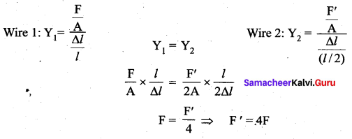 Samacheer Kalvi 11th Physics Solutions Chapter 7 Properties of Matter 7