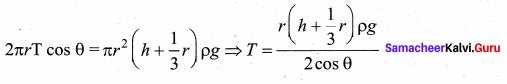 Samacheer Kalvi 11th Physics Solutions Chapter 7 Properties of Matter 80