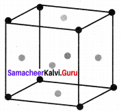 12 Chemistry Samacheer Kalvi Solution Chapter 6 Solid State