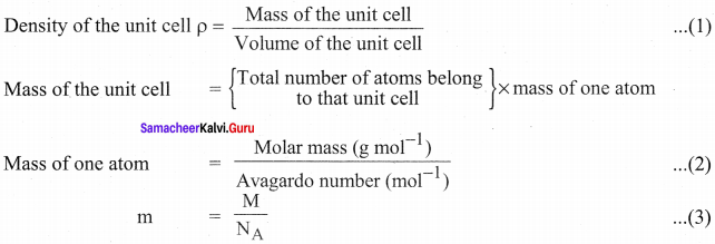 Samacheer Kalvi 12th Chemistry Solution Chapter 6 Solid State-48