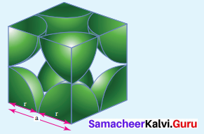 Samacheer Kalvi 12th Chemistry Solution Chapter 6 Solid State-50