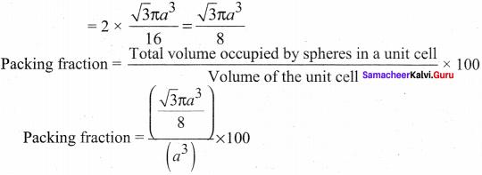 Solid State Chemistry Class 12 Pdf Chapter 6 Samacheer Kalvi