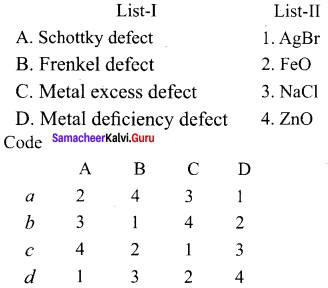 Samacheer Kalvi 12th Chemistry Solution Chapter 6 Solid State-34