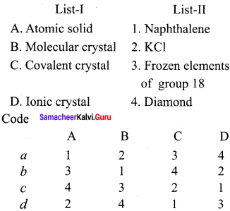 Samacheer Kalvi 12th Chemistry Solution Chapter 6 Solid State-27