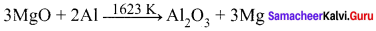 12th Chemistry Samacheer Kalvi Solutions Chapter 1 Metallurgy