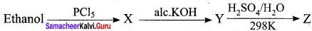 Samacheer Kalvi 12th Chemistry Solutions Chapter 11 Hydroxy Compounds And Ethers