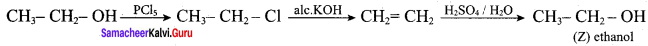 Samacheer Kalvi 12th Chemistry Solutions Chapter 11 Hydroxy Compounds and Ethers-16