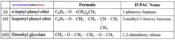 Samacheer Kalvi 12th Chemistry Solutions Chapter 11 Hydroxy Compounds and Ethers-215