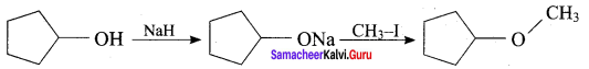Samacheer Kalvi 12th Chemistry Solutions Chapter 11 Hydroxy Compounds and Ethers-17