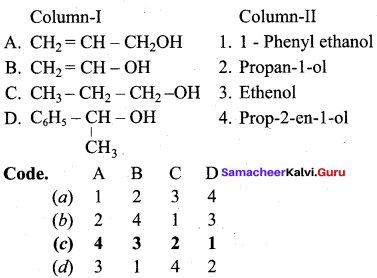 Samacheer Kalvi 12th Chemistry Solutions Chapter 11 Hydroxy Compounds and Ethers-126