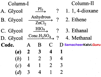 Samacheer Kalvi 12th Chemistry Solutions Chapter 11 Hydroxy Compounds and Ethers-132