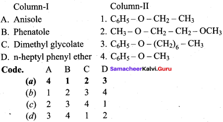 Samacheer Kalvi 12th Chemistry Solutions Chapter 11 Hydroxy Compounds and Ethers-138