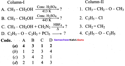Samacheer Kalvi 12th Chemistry Solutions Chapter 11 Hydroxy Compounds and Ethers-140