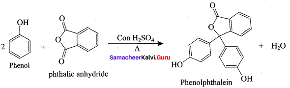 Samacheer Kalvi 12th Chemistry Solutions Chapter 11 Hydroxy Compounds and Ethers-175