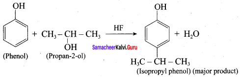 Samacheer Kalvi 12th Chemistry Solutions Chapter 11 Hydroxy Compounds and Ethers-87