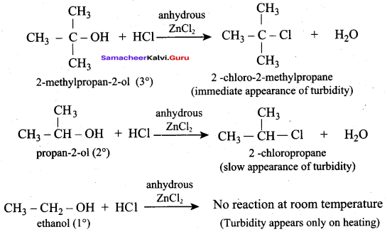 Samacheer Kalvi 12th Chemistry Solutions Chapter 11 Hydroxy Compounds and Ethers-195