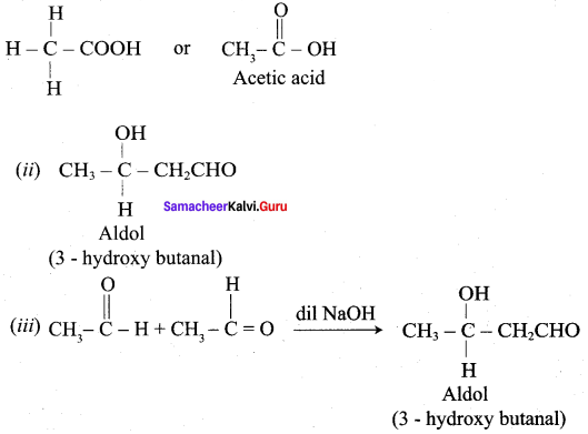 Samacheer Kalvi 12th Chemistry Solutions Chapter 12 Carbonyl Compounds and Carboxylic Acids-260