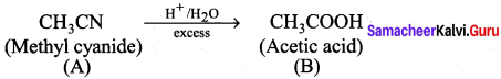 Samacheer Kalvi 12th Chemistry Solutions Chapter 12 Carbonyl Compounds and Carboxylic Acids-38