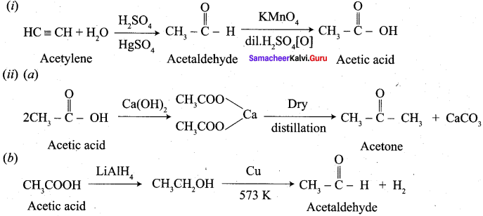 Samacheer Kalvi 12th Chemistry Solutions Chapter 12 Carbonyl Compounds and Carboxylic Acids-255