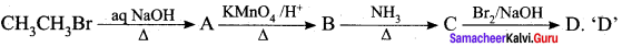 Samacheer Kalvi 12th Chemistry Solutions Chapter 13 Organic Nitrogen Compounds-1