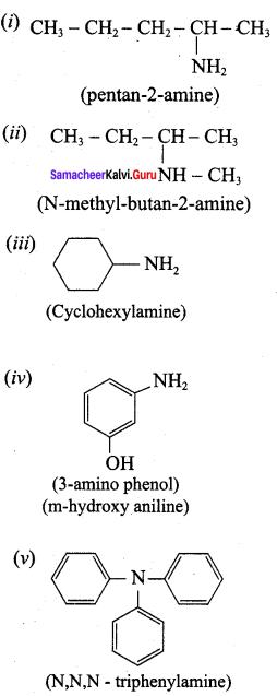 Samacheer Kalvi 12th Chemistry Solutions Chapter 13 Organic Nitrogen Compounds-105