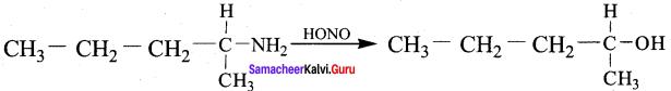 Samacheer Kalvi 12th Chemistry Solutions Chapter 13 Organic Nitrogen Compounds-13