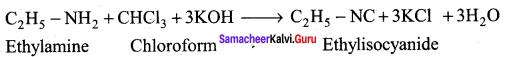 Samacheer Kalvi 12th Chemistry Solutions Chapter 13 Organic Nitrogen Compounds-53