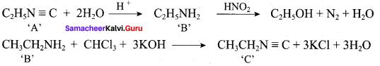 Samacheer Kalvi 12th Chemistry Solutions Chapter 13 Organic Nitrogen Compounds-172
