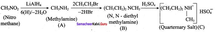 Samacheer Kalvi 12th Chemistry Solutions Chapter 13 Organic Nitrogen Compounds-74