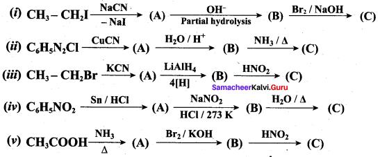 Samacheer Kalvi 12th Chemistry Solutions Chapter 13 Organic Nitrogen Compounds-183