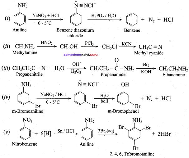 Samacheer Kalvi 12th Chemistry Solutions Chapter 13 Organic Nitrogen Compounds-189