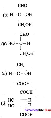Samacheer Kalvi 12th Chemistry Solutions Chapter 14 Biomolecules-12