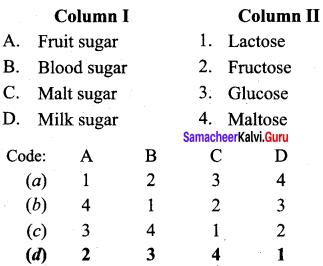 Samacheer Kalvi 12th Chemistry Solutions Chapter 14 Biomolecules-19