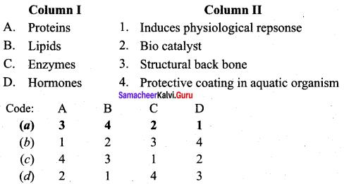 Samacheer Kalvi 12th Chemistry Solutions Chapter 14 Biomolecules-20