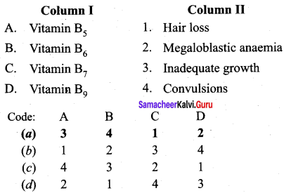 Samacheer Kalvi 12th Chemistry Solutions Chapter 14 Biomolecules-22