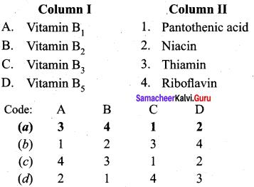 Samacheer Kalvi 12th Chemistry Solutions Chapter 14 Biomolecules-26