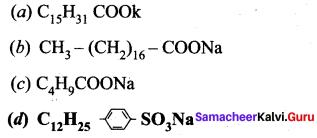 Samacheer Kalvi 12th Chemistry Solutions Chapter 15 Chemistry in Everyday Life-12