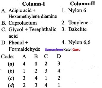 Samacheer Kalvi 12th Chemistry Solutions Chapter 15 Chemistry in Everyday Life-25