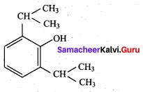 Samacheer Kalvi 12th Chemistry Solutions Chapter 15 Chemistry in Everyday Life-29
