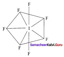 12th Chemistry Chapter 3 Book Back Answers P-Block Elements - II Samacheer Kalvi