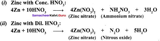 Samacheer Kalvi Guru Chemistry Solutions Chapter 3 P-Block Elements - II