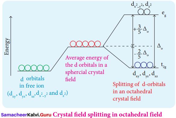 12th Coordination Chemistry Samacheer Kalvi Solutions Chapter 5