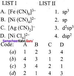 Samacheer Kalvi 12th Chemistry Solutions Chapter 5 Coordination Chemistry-39