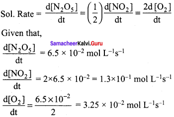 Samacheer Kalvi 12th Chemistry Solutions Chapter 7 Chemical Kinetics-18