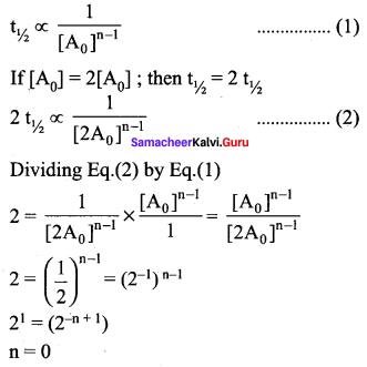 Samacheer Kalvi 12th Chemistry Solutions Chapter 7 Chemical Kinetics-20