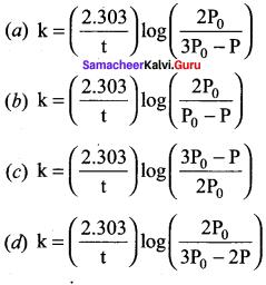 Samacheer Kalvi 12th Chemistry Solutions Chapter 7 Chemical Kinetics-21