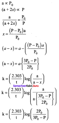 Samacheer Kalvi 12th Chemistry Solutions Chapter 7 Chemical Kinetics-24