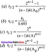 Samacheer Kalvi 12th Chemistry Solutions Chapter 7 Chemical Kinetics-117