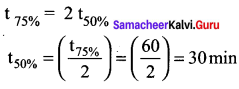 Samacheer Kalvi 12th Chemistry Solutions Chapter 7 Chemical Kinetics-25